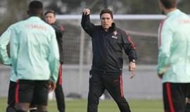 Rui Jorge: «Não há necessariamente uma equipa-tipo nesta altura»