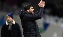 Sérgio Conceição: «Só poderia ir de férias com quatro ou cinco jogadores»