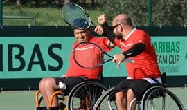 Mundial de Ténis em Cadeira de Rodas: Portugal vence Estónia