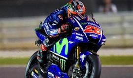 MotoGP: Viñales fecha treinos livres no Qatar com o melhor tempo