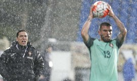 Rui Jorge quer ver melhorias: «Jogo foi pouco consistente em termos defensivos»