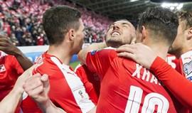 Grupo B: Suíça vence Letónia e continua imparável