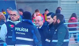 Polícia serena confusão na Luz à chegada de Jaime Marta Soares