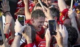 Presidente da Ferrari emocionado com triunfo de Vettel: Já era tempo!