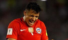 Alexis Sánchez apanhado a conduzir em excesso de velocidade no Chile