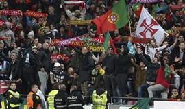 Benfica vai analisar cânticos da 'claque' da Seleção Nacional