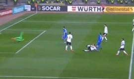 Foi assim que Dimitrij Nazarov bateu Leno e empatou o Azerbaijão-Alemanha