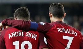 André Silva e Ronaldo são os reis do golo na Europa