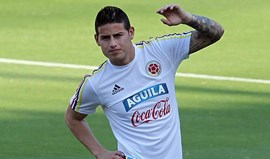 James Rodríguez mostrou o dedo do meio e rebentou a polémica