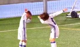 Parece que Ramos e Vázquez ainda têm muito que aprender com os pequenos do Real Madrid