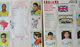 Caderneta de cromos do Mundial de 1970 vendida por mais de 12 mil euros