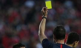 Liga portuguesa é sétima em cartões