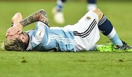 Oficial: Messi punido com quatro jogos de suspensão