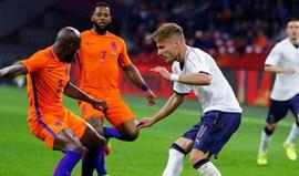 Holanda-Itália, em direto
