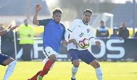 Portugal empata com França no fecho do Torneio das Quatro Nações