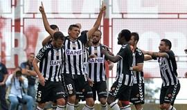 Soares sabe como marcar ao Benfica