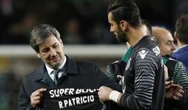 Bruno de Carvalho: «Queremos que Rui Patríciotermine aqui a carreira»