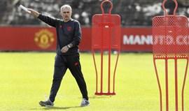 Mourinho diz que depois do United precisa de um trabalho mais fácil do que o do... United