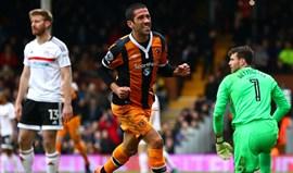 Evandro está de volta aos treinos do Hull City