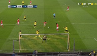Para Rui Vitória este foi o momento do jogo de Dortmund