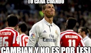 Ronaldo, a substituição e os 'mergulhos': os memes que não perdoam...