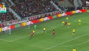 Gelson voltou a assistir... agora para um sueco 'encostar'