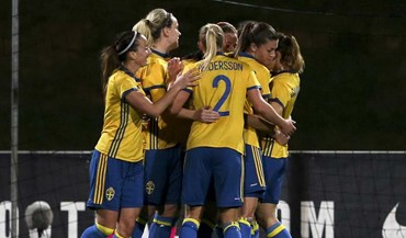 Algarve Cup: Suécia garante sétimo lugar