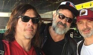 Atores da série 'The Walking Dead' têm uma nova equipa... que os portugueses bem conhecem!