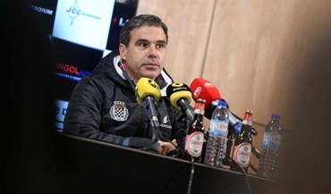Miguel Leal: «Vamos ter que fazer um jogo sério»