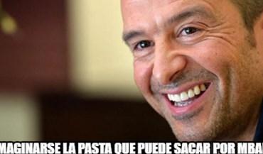 Nas críticas a Guardiola até Jorge Mendes apareceu