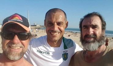 Cantona é o novo embaixador do futebol de praia do Sporting