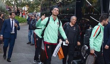 Ronaldo volta com a Taça