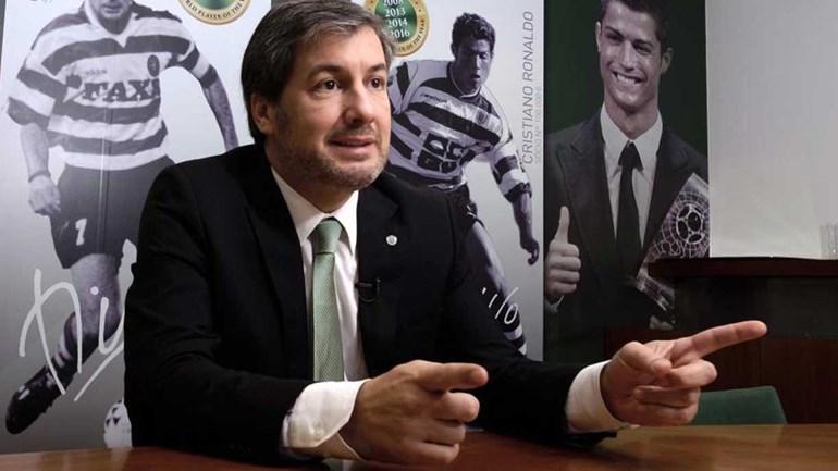 Bruno de Carvalho: «Entrevista de Vieira? Até me vieram as lágrimas aos olhos»
