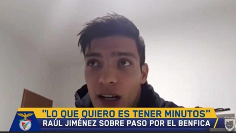 Jiménez admite sair do Benfica no final da temporada