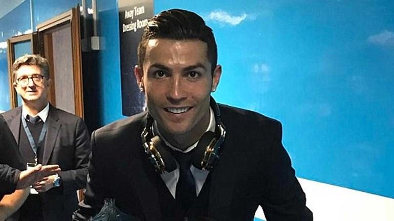 Ronaldo deu a prenda perfeita aos filhos de Hamsik