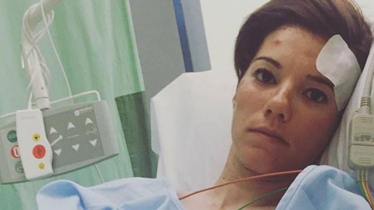 Condutor atropela e deixa ciclista espanhola inconsciente