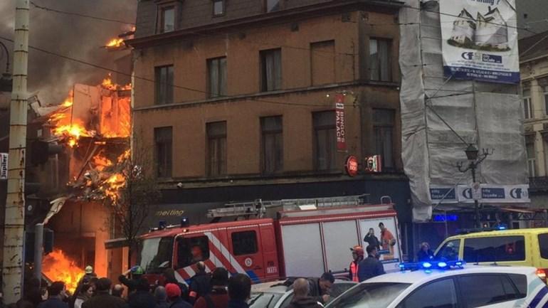 Explosão em uma casa de Bruxelas deixa mortos