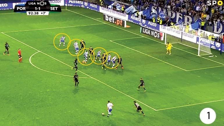 O FC Porto-V. Setúbal visto à lupa: Decisão andou sempre longe