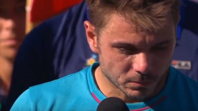 Wawrinka chamou parvo a Federer e houve reação...