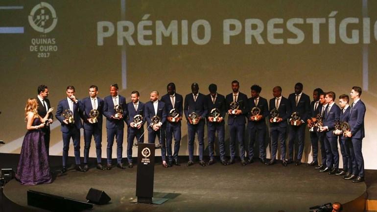 Todos os vencedores da Gala Quinas de Ouro