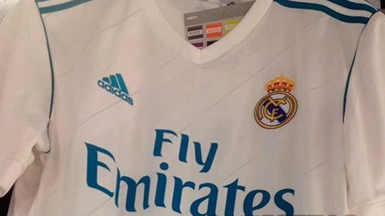 Nova camisola do Real Madrid já anda a circular