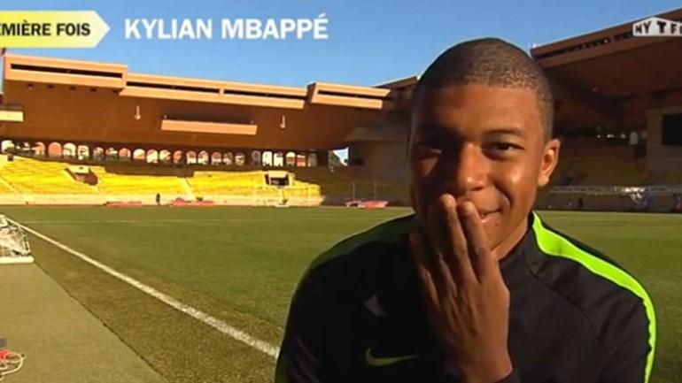 Sabe a quemMbappé pediu o seu primeiro autógrafo?