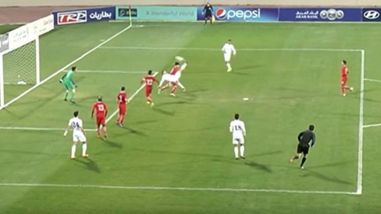 Quem diz que na Jordânia não há grandes golos?