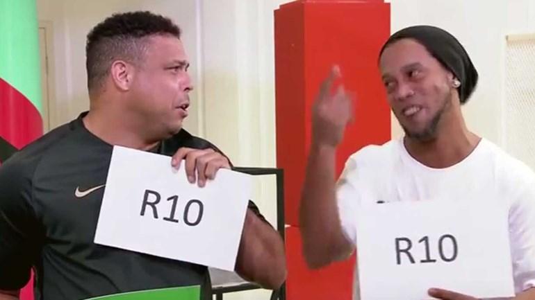 Entre Ronaldo e Ronaldinho, sabe quem dava as melhores... festas?