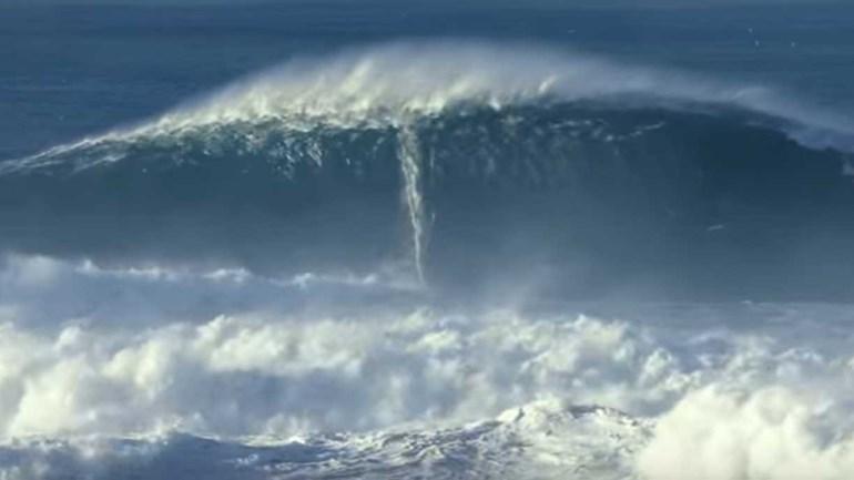 Estes são os candidatos à maior onda surfada do ano... com a Nazaré em destaque
