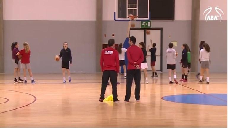 Veja a preparação dos sub-16 de Aveiro para a festa do basquetebol