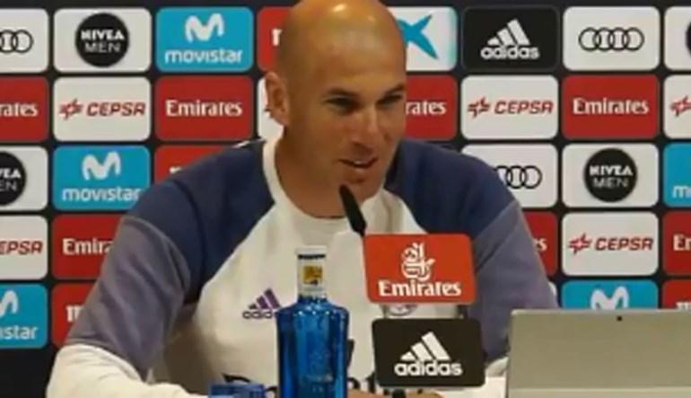 Zidane sem medo do duelo com o Bayern Munique na Champions