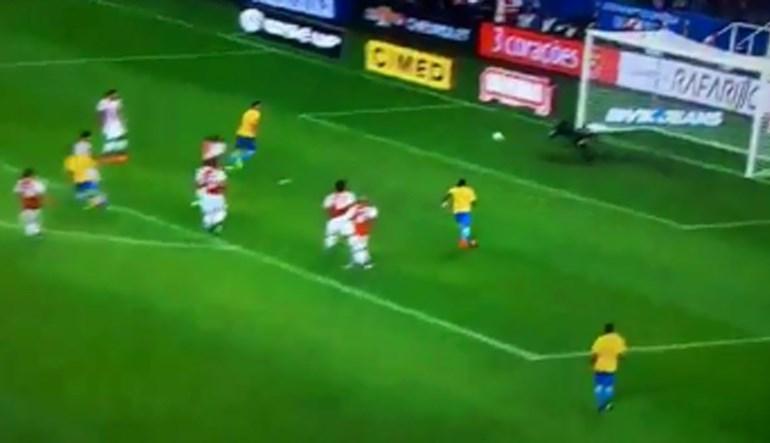 Brasil rumo à Rússia com três magníficos golos