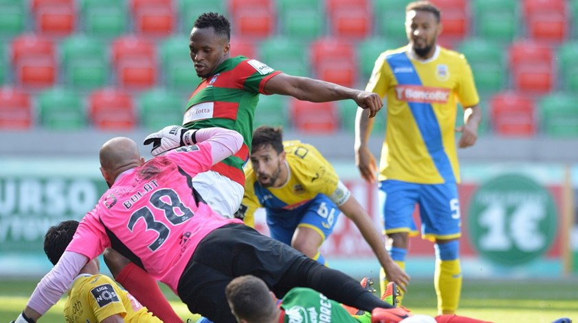 A crónica do Marítimo-Arouca, 3-1: Dar a volta com categoria