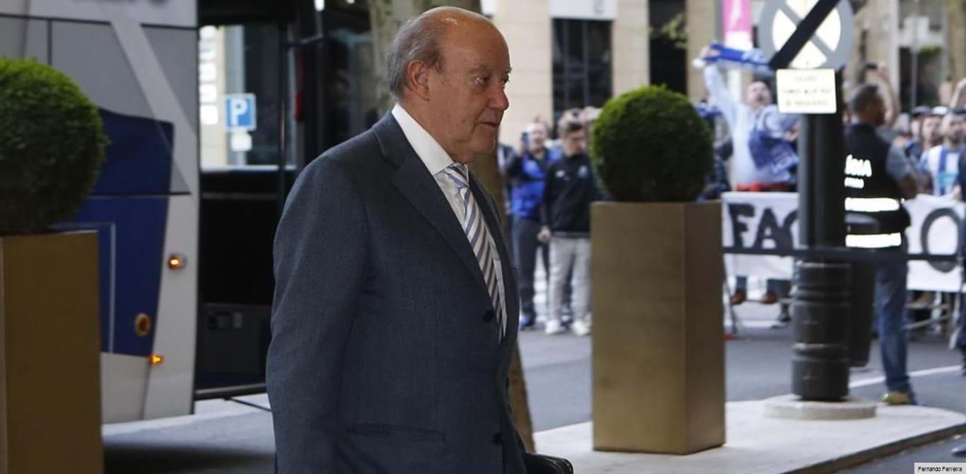 Pinto da Costa também foi à Federação